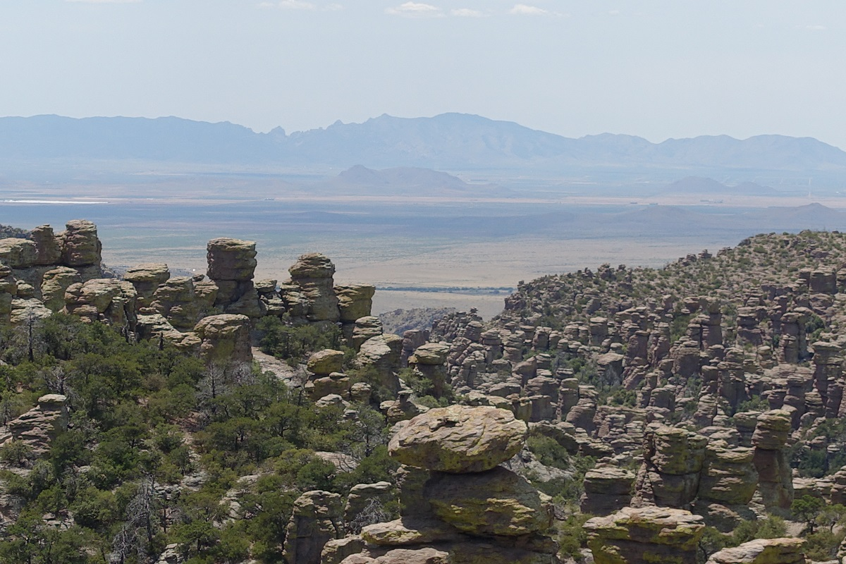 View from Massai Point, Chiricahua National Monument, Arizona