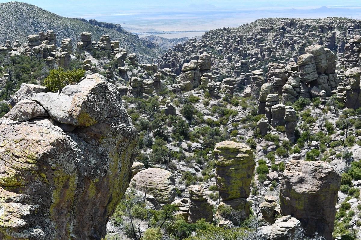 Spires and columns, Chiricahua National Monument, Arizona