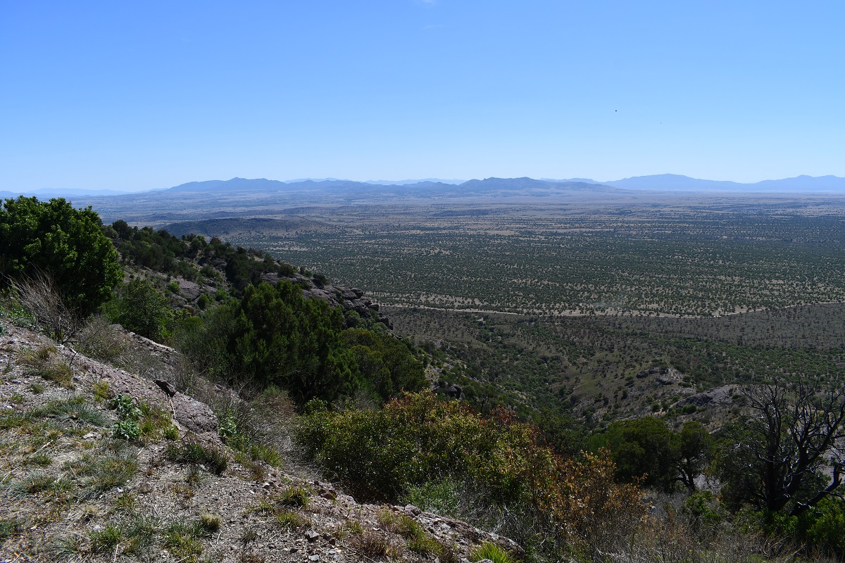 Preserved natural terrain, Coronado National Monument, Arizona