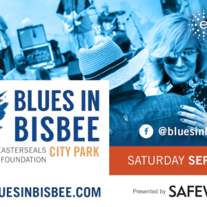 Blues in Bisbee event graphic