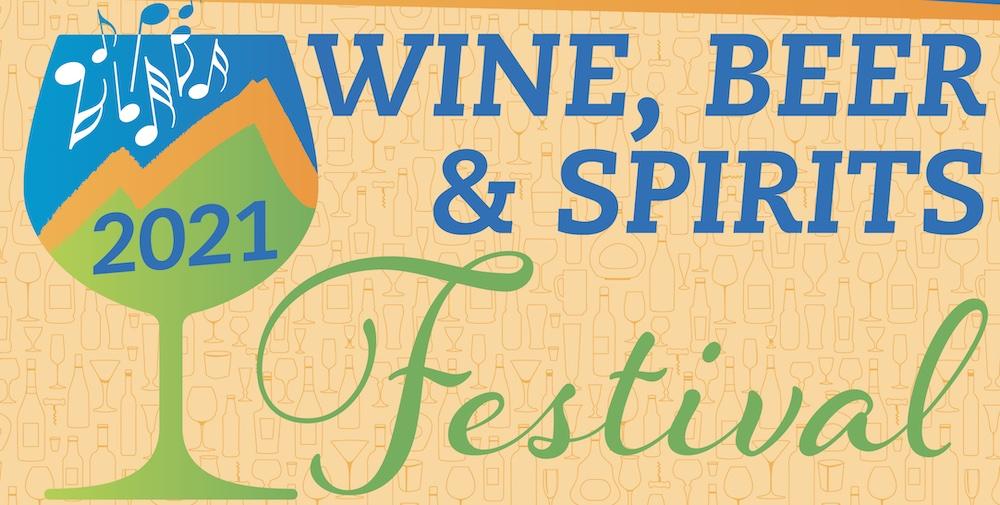 Sierra Vista wine beer spirits festival logo graphic