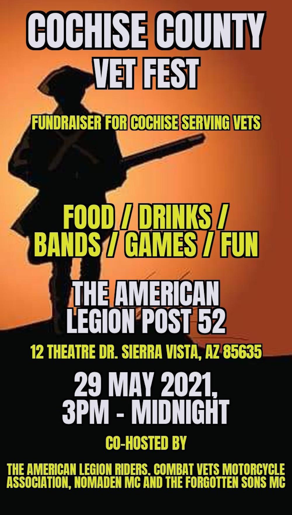 Cochise County Vet Fest flyer